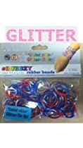 Rubbzy 100 pc Special Edition Tie Dye/Glitter Rubber Bands (050RWB) : Image