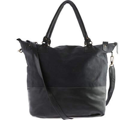 sharo-leather-bags-large-leather-tote-with-canvas-black