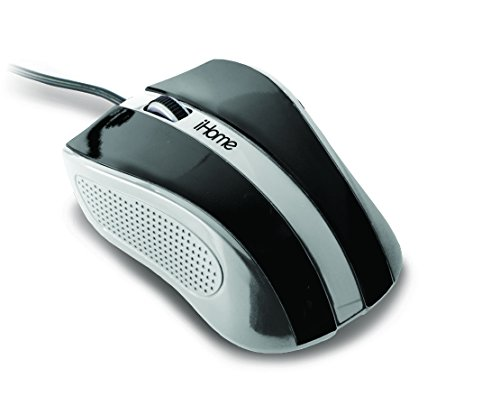 iHome | Precision USB Desktop Mouse - Black (See More Colors)