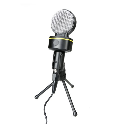 Century Accessory Condenser Sound Professional Microphone Mic With Tripod For Pc Laptop Portable