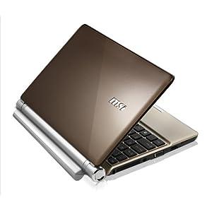 MSI U160-007US 10-Inch Brown Netbook