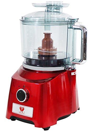 Beeketal-Profi-Kutter-BKK03-Fleischkutter-mit-Doppelsichel-Spezialklingen-aus-gehrtetem-Edelstahl-starker-800-Watt-Motor-mit-3-Stufen-1800-2300-Umin-und-Impulsfunktion-Deckel-mit-Nachfllffnung-und-Sic