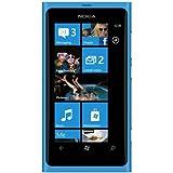 ノキアジャパン Nokia Lumia 800 cyan SIMフリー 海外携帯