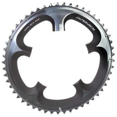 Shimano FC-7900 Dura-Ace Chainring (Silver, 130x53T 10 Speed B-Type)