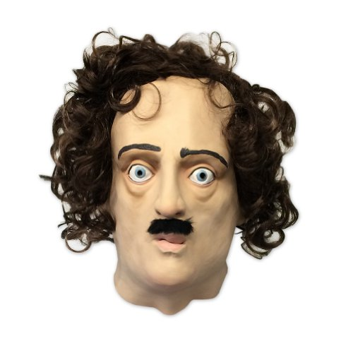 Edgar Allan Poe Mask (Super Creepy) - Off the Wall Toys