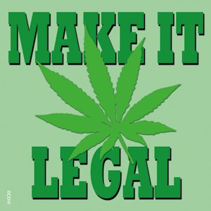 Licenses Products Weed Indeed Make It Legal Sticker - 1