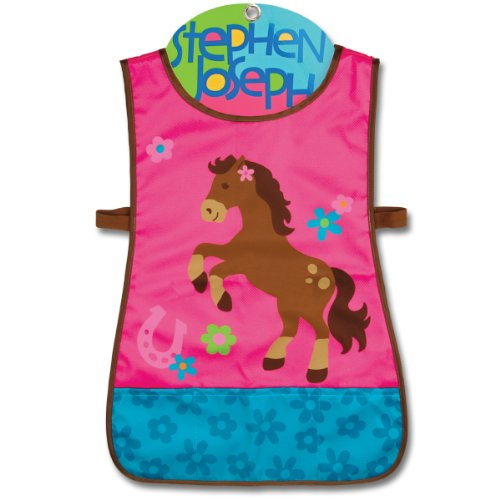 Stephen Joseph Horse Craft Apron