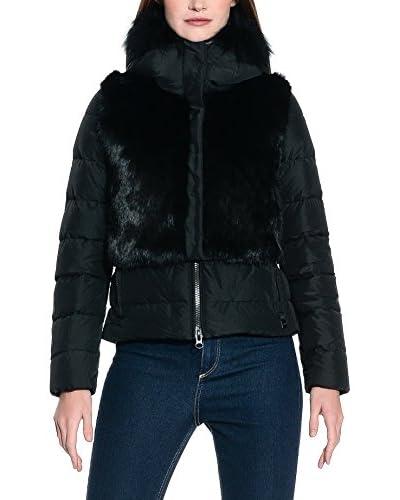 ADD Plumas Down Detachable Fur Vest Negro ES 44 (IT 48)