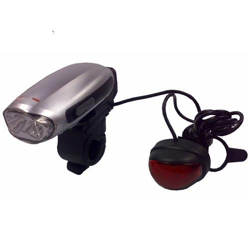 Swallow - Wind Up Dynamo Bike Lights and Mobile Phone Charger - Eco Friendly - PP-SWALLOW
