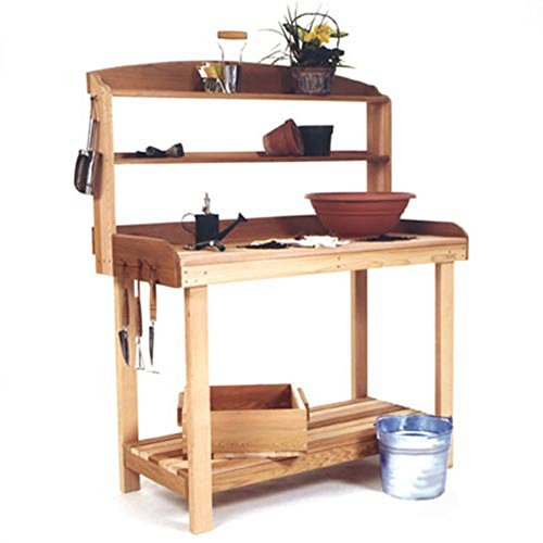 All Things Cedar Sycamore Potting Bench - Western Red Cedar (Western Red Cedar Potting Bench compare prices)