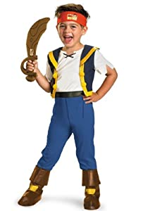 Disney Jake And The Neverland Pirates Jake Deluxe Costume, 2T