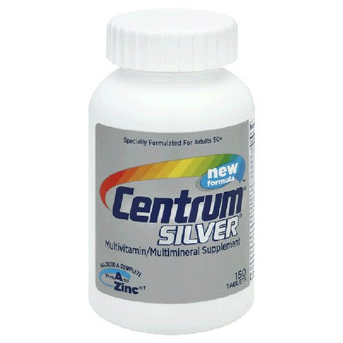 Centrum Silver Multivitamin/Multimineral Supplement, for Adults 50 Plus, Tablets , 150 tablets