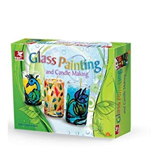 ToyKraft Glass Painting Candle Making