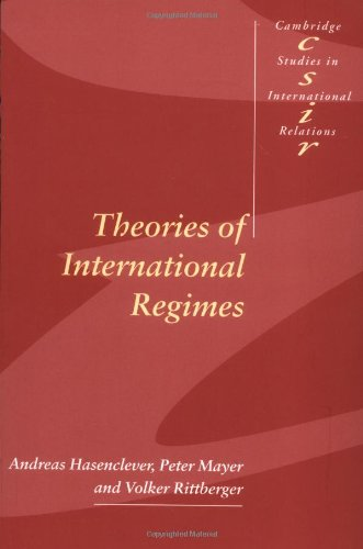 Theories of International Regimes (Cambridge Studies in...