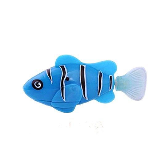 Poissons clowns robot tanche en plastique jouet pour for Jouet aquarium poisson