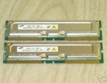 1GB (2x512MB) Rambus Memory Upgrade 4 Dell Dimension 8100 (ECC), 8100LE (ECC), Dimension 8200 Memory (400MHz FSB - 1.50, 1.60, 1.80, 1.90, 2.00, or 2.20GHz)