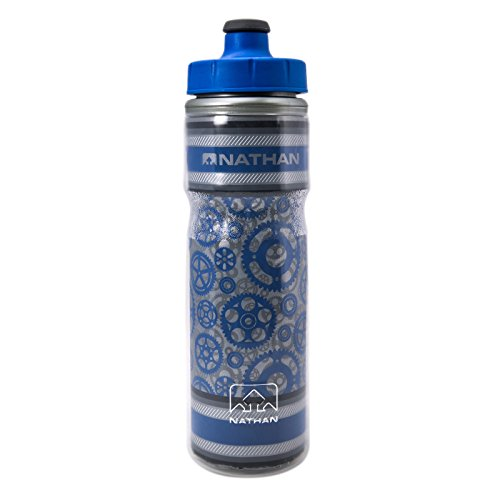 Nathan Freewheeler Fire And Ice Bottle, Electric Blue