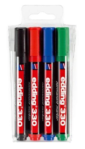 edding-330-4-s-estuche-de-4-marcadores-permanentes-con-punta-biselada-1-5-mm-colores-surtidos-1-unid
