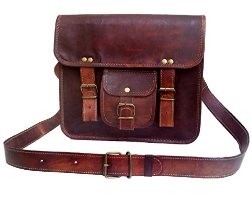 Buy Cheap 11 Men's Genuine Leather Small Briefcase Messenger Satchel Ipad Tab Tablet Bag