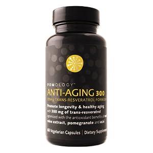 Pomology Antiaging 300, Vegetarian Capsules, 60-Count Bottle