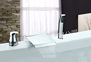 Continental separation of waterfall bathtub faucet taps by memeda