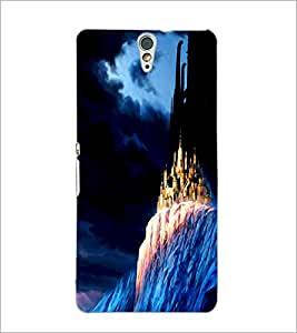 PrintDhaba Mysterious Castle D-1194 Back Case Cover for SONY XPERIA C5 ULTRA (Multi-Coloured)