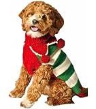 Chilly Dog Christmas Elf Dog Sweater, Large