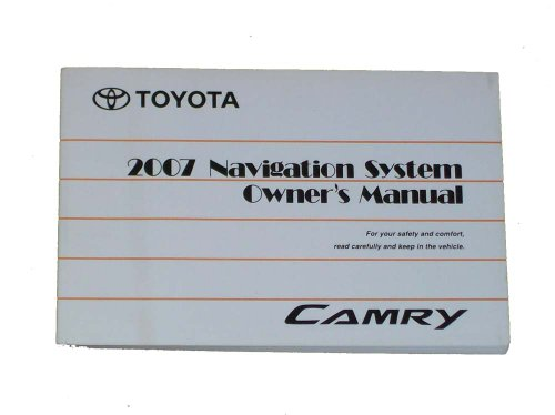 2007-toyota-camry-navigation-owners-manual-oem