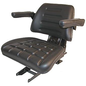 Amazon.com: 008000167B91 Complete Seat, Black Mahindra Tractor 4500
