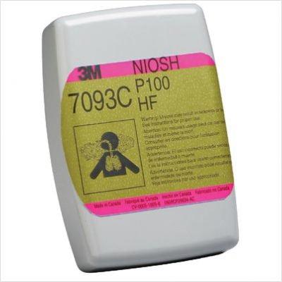 6000 & 7000 Series Half and Full Facepiece Cartridges & Filters - 3m cartridge/filter 7093cb hydrogen fluoride p10
