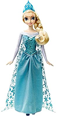 Disney Frozen Singing Elsa Doll from Mattel