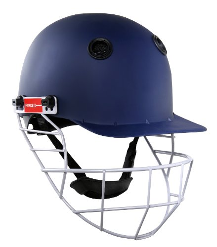 Gray-Nicolls Boys Warrior Cricket Helmet - Navy Jr