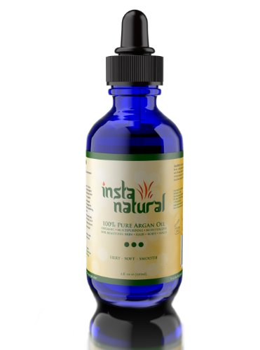 100% Organic Argan Oil for Hair, Face, & Skin
