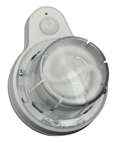 Leviton 9863-SEN Compact Fluorescent Lampholder with Occupancy Sensor with 13W CFL Lamp and Lamp Guard (Leviton Light Sensor compare prices)