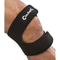 Cho-Pat Dual Action Knee Strap, Black, Medium, 14 Inch-16 Inch by Cho-Pat