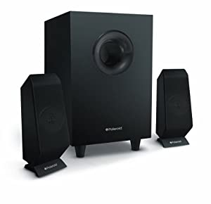 polaroid psk305 2 1 multimedia pc speakers 6 watts electronics. Black Bedroom Furniture Sets. Home Design Ideas