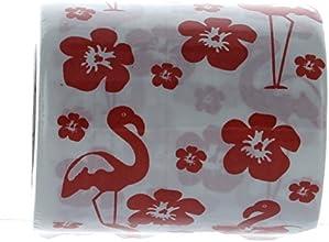 One Roll LUAU Flamingo 2-Ply Toilet Paper