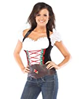 Beer Girl Bustier Adult Costume by Coquette