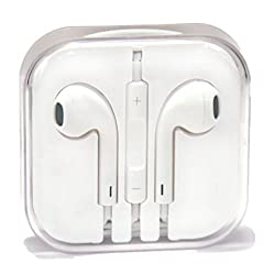Retro Deals Of The Day !! Apple Iphone Earphone with Remote Control & Mic for ! Iphone 6 ,ipads, Ipods Competible ! Best Quality !