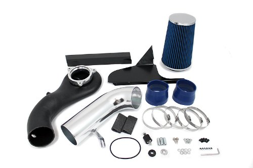 96-04 S-10 / Blazer / GMC Sonoma 96-01 Jimmy V6 4.3L Heat Shield Intake Blue (Included Air Filter) #Hi-CH-1B (S10 Blazer Performance Parts compare prices)