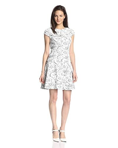 Julia Jordan Women's Lace Fit-and-Flare Dress
