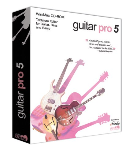 eMedia GuitarPro 5.1 Win/Mac