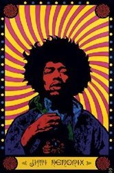Buy Jimi Hendrix Guitar Poster Now!