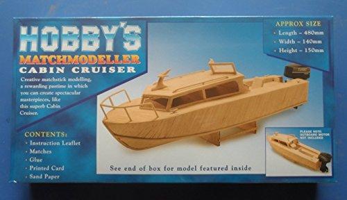 Cabin Cruiser - Matchmodeller matchstick model construction craft kit