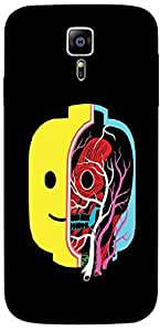 Timpax Light Weight One-piece construction Hard Back Case Cover Printed Design : A skull in a jar.For Samsung Galaxy S6