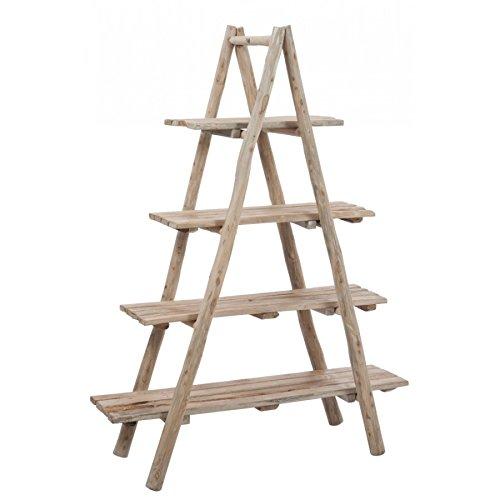 Scaffale 4taglieri in legno naturale