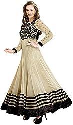 Full size dress chiku colour