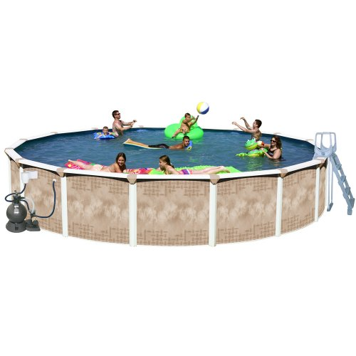 Splash Swimming Pools: For SALE Splash Pools Round Deluxe Pool Package, 27-Feet