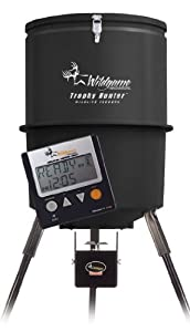Wildgame Innovations 30 Gallon Digital Poly Barrel Feeder by Wild Game Innovations