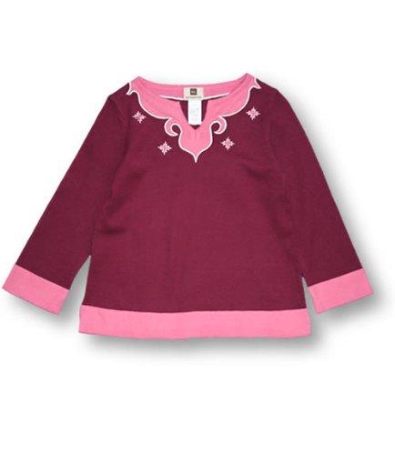 Tea Marrakesh Jacquard Jumper, Knitwear, Girls, 4T